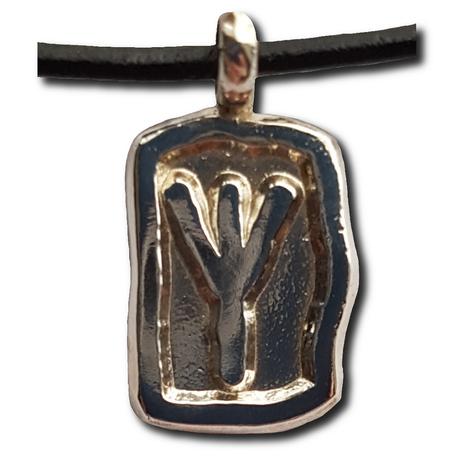 Algiz Pendant Without Beads
