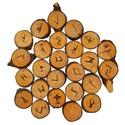 Maple Elder Futhark Runes