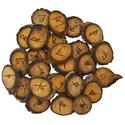 Walnut Elder Futhark Runes