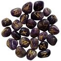 Amethyst Elder Futhark Runes