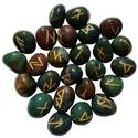 Bloodstone Elder Futhark Runes
