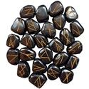 Hematite Elder Futhark Runes