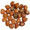 Red Jasper Elder Futhark Runes