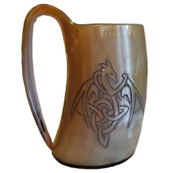 Dragon Drinking Horn Tankard