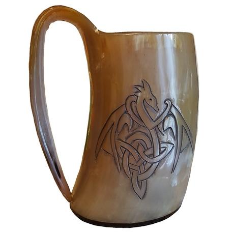 Dragon Drinking Horn Tankard