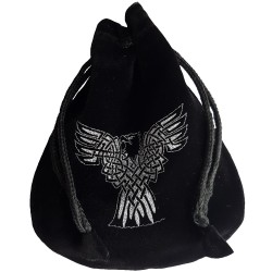 Celtic Eagle Rune Pouch