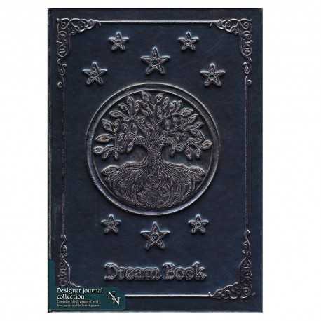 Yggdrasil Dream Journal front cover details