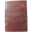 Celtic Knotwork Leather Journal