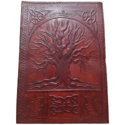 Leather Yggdrasil Journal