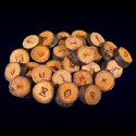 Branch Cut Wooden Runes