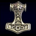 Silver Thor's Hammer Jewelry