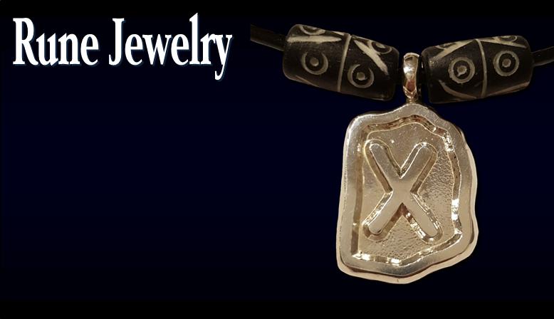Silver Rune Jewelry