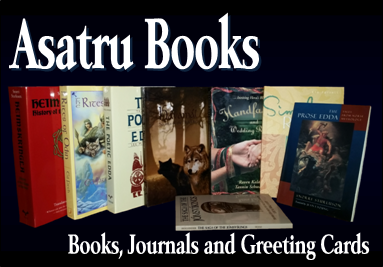 Asatru Books, Journals and Greeting Cards